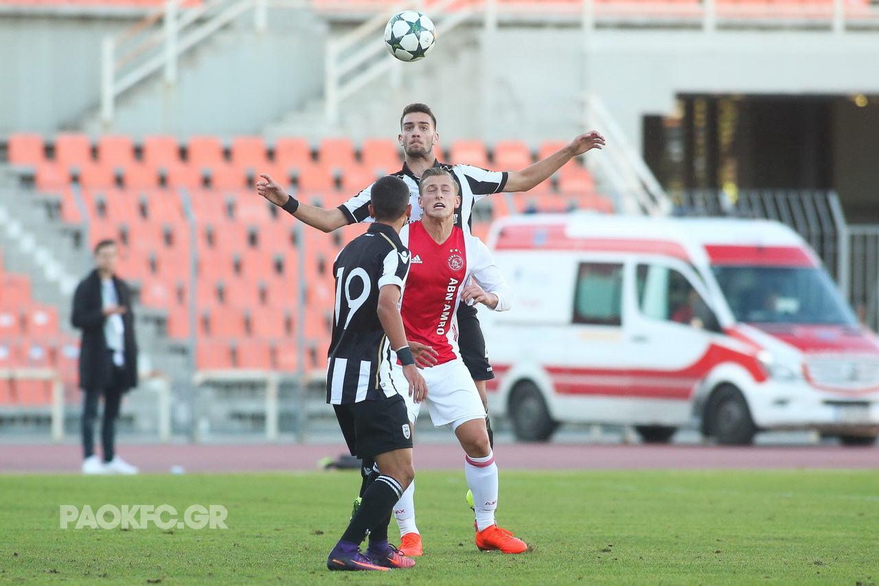 Ajax Paok: U20 PAOK FC-AFC Ajax
