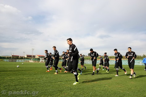 PAOK kick off preparation for Olympiacos visit [video]
