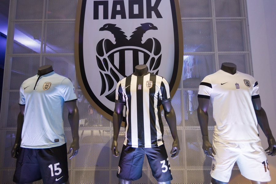 paokfc.gr Νέα Οι νέες εμφανίσεις του ΠΑΟΚ a42cb1a15c0