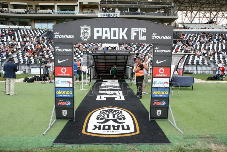 PAOK – Zimbru Chișinău: mixed zone