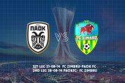 PAOK's schedule at Moldova