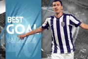 Martens lands Best Goal of August distinction [video]