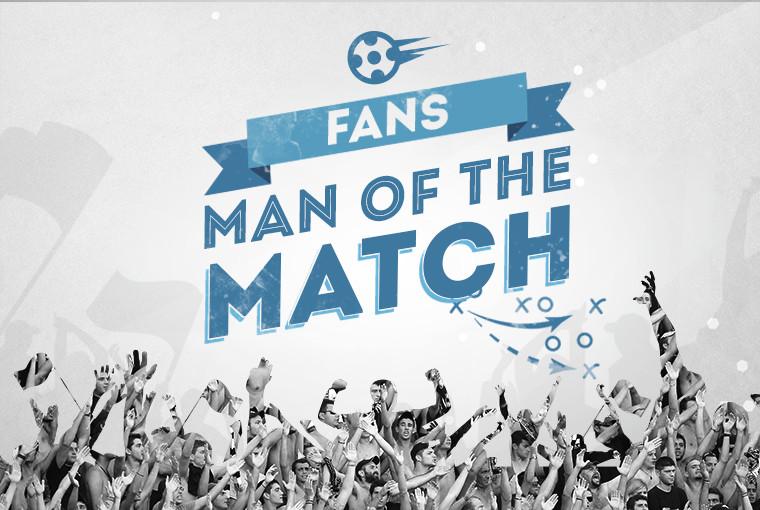 Ψηφίστε τον Fans Man of the Match