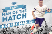 "Mak is voted ""Fans Man of the Match"""