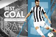 September's Best Goal: Răzvan Raț [video]