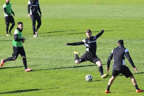Training match at Toumba