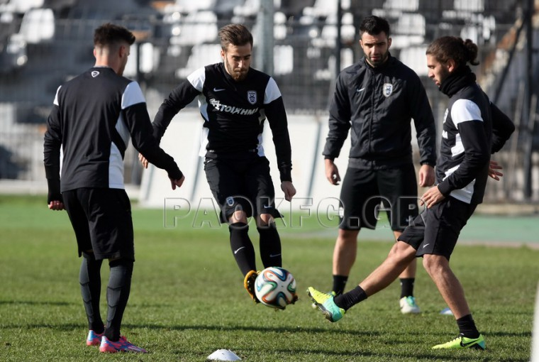 Training before the trip to Livadia [video]