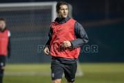Ricardo Costa's first training [video]