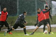 Training under intense rain