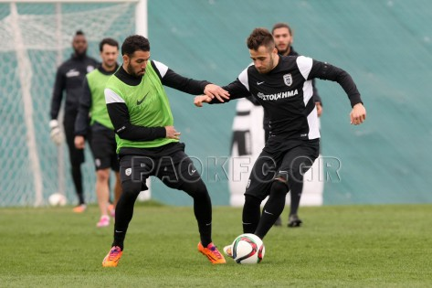 Training session photos