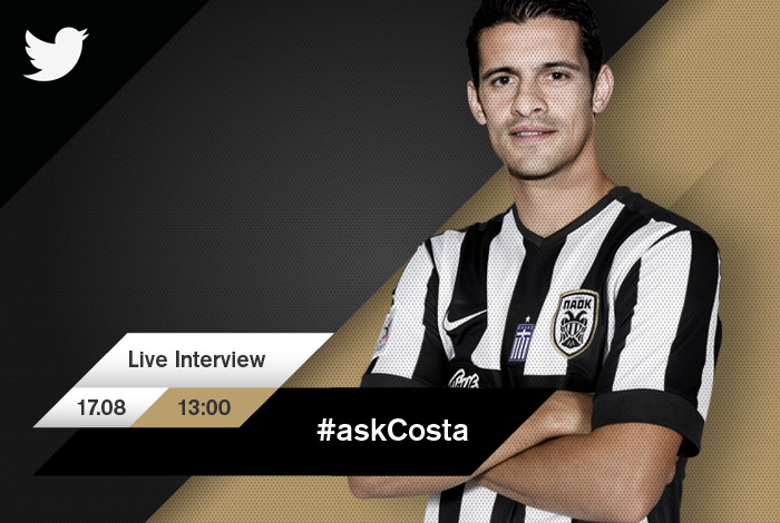 Ricardo costa answers your twitter questions paokfc for Ricardo costa