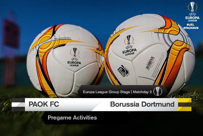 Dortmund Paok Tickets