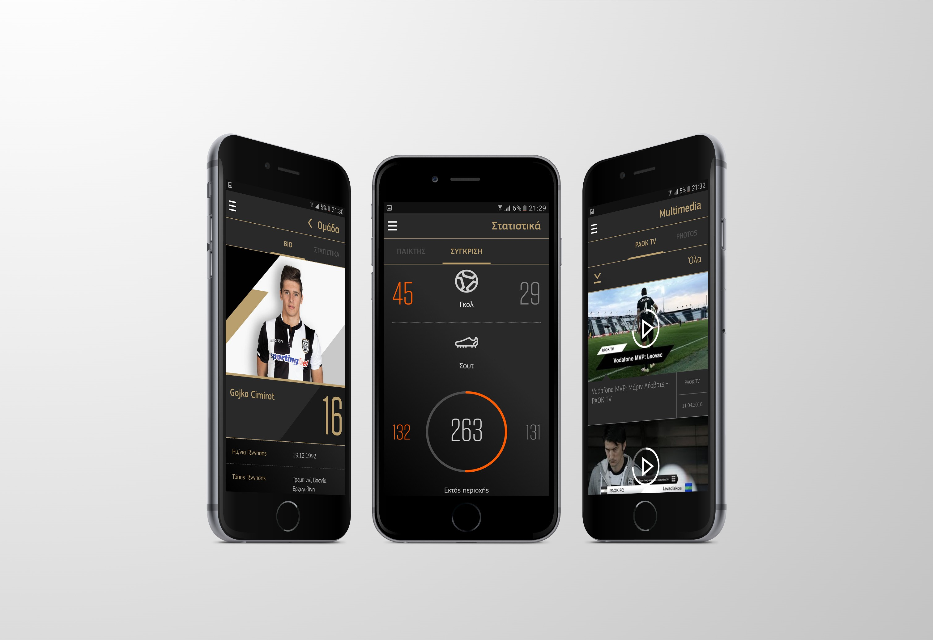 PAOK FC Official App Makes Its Debut On Store PAOKFC