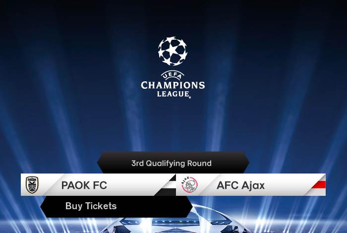 Ajax Paok: AFC Ajax: Tickets