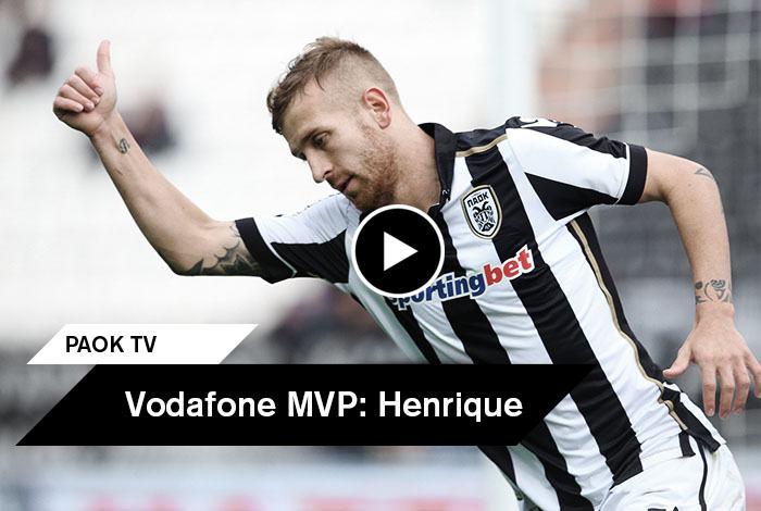 Vodafone mvp pedro henrique on camera paokfc for Pedro camera it