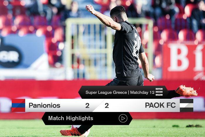 paokfc.gr News Panionios – PAOK  Highlights 2180d9595d7