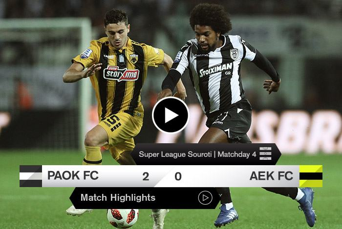 PAOK FC Official App  Play Store   App Store caeacd08b21