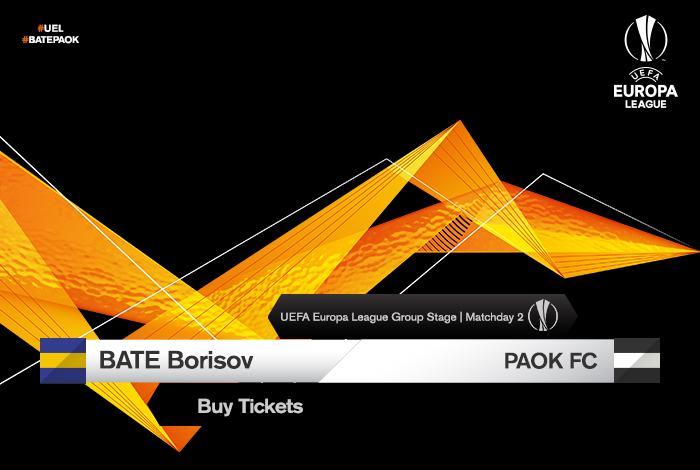 Τα εισιτήρια του ΜΠΑΤΕ Μπορίσοφ-ΠΑΟΚ 86c0983b13b