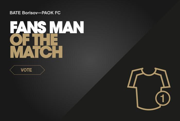 Ψηφίστε τον Fans  Man of the Match. Α Ομάδα ... 0023678549d