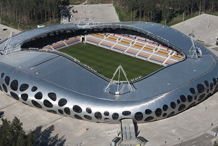 paokfc.gr Α Ομάδα Borisov Arena  Ενα high tech γήπεδο μέσα στο δάσος 517bf2a17c8