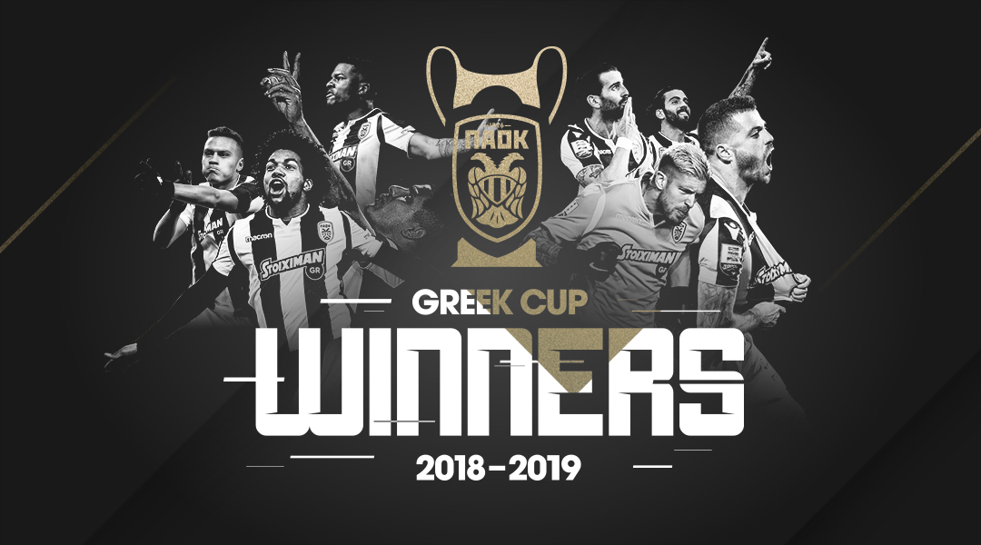 Image result for paok greek cup winner 2019