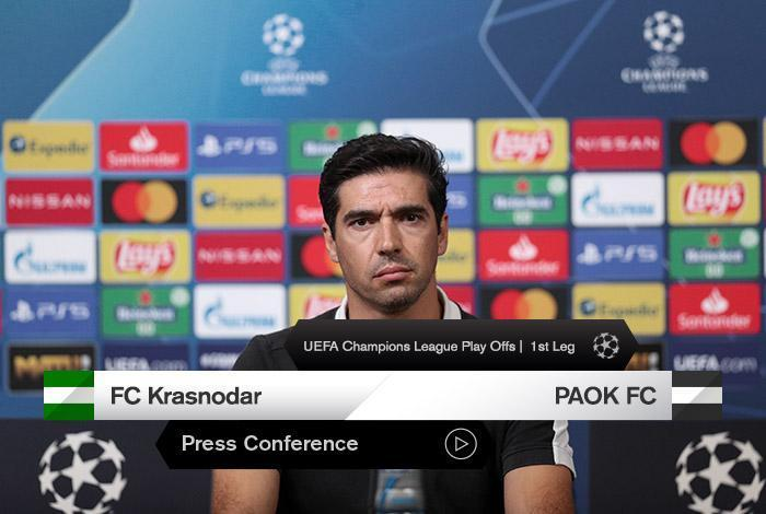 Krasnodar Vs Paok Post Match Press Conference Video Paokfc
